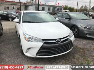Used 2016 Toyota Camry LE | ONE OWNER | BLUETOOTH | CAM for sale in London, ON
