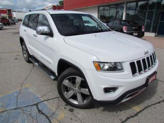 Used 2014 Jeep Grand Cherokee Limited | NAV | LEATHER | ROOF | 4X4 for sale in London, ON