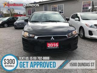 Used 2016 Mitsubishi Lancer for sale in London, ON