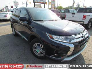 Used 2017 Mitsubishi Outlander ES | AWD | ONE OWNER | CAM | HEATED SEATS for sale in London, ON