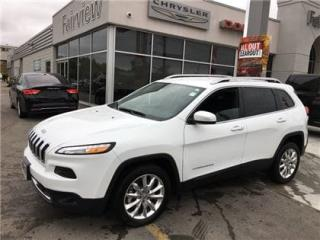 Used 2017 Jeep Cherokee Limited..Not A Rental for sale in Burlington, ON