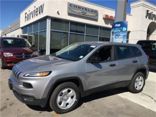 Used 2017 Jeep Cherokee Sport for sale in Burlington, ON