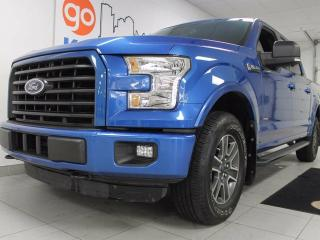 Used 2016 Ford F-150 XLT 2.7L V6 ecoboost with NAV, back up cam, heated seats. for sale in Edmonton, AB