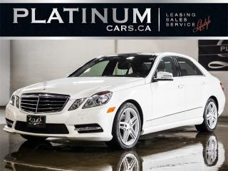 Used 2013 Mercedes-Benz E-Class E350 4MATIC, AMG SPO for sale in North York, ON