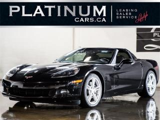 Used 2009 Chevrolet Corvette 430HP, 6-SPEED, TARG for sale in North York, ON