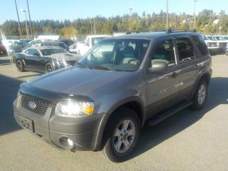 Used 2007 Ford Escape XLT 4WD for sale in Burnaby, BC