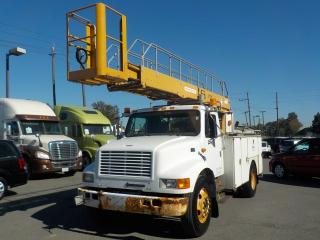 Used 1999 International 4700 Bucket Truck Diesel with Air Brakes for sale in Burnaby, BC