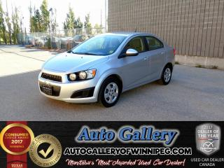 Used 2014 Chevrolet Sonic LS *Low Kms! for sale in Winnipeg, MB