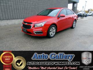 Used 2016 Chevrolet Cruze Limited LT *Backup Cam for sale in Winnipeg, MB