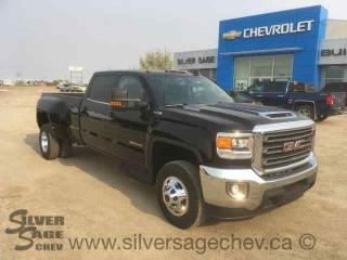 New 2018 GMC Sierra SLE 3500 Crew Cab DRW Duramax Dually - Leather - 6 Passenger for sale in Shaunavon, SK
