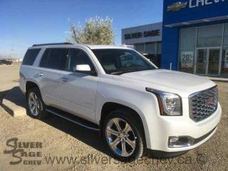 New 2018 GMC YUKON DENALI 4WD 6.2L with 10 speed automatic for sale in Shaunavon, SK