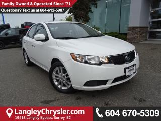 Used 2012 Kia Forte 2.0L EX *ONE OWNER*LOCAL BC CAR* for sale in Surrey, BC