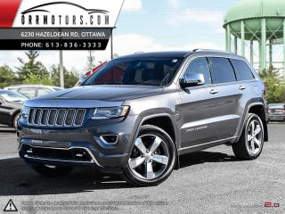 Used 2014 Jeep Grand Cherokee DIESEL Overland 4WD for sale in Stittsville, ON