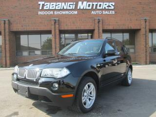 Used 2007 BMW X3 LEATHER | SUNROOF | HEATED SEATS | for sale in Mississauga, ON