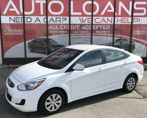 Used 2016 Hyundai Accent GLS-ALL CREDIT ACCEPTED for sale in Scarborough, ON