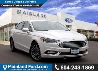 Used 2017 Ford Fusion SE LOW KMS, NO ACCIDENTS for sale in Surrey, BC