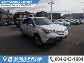 Used 2009 Acura MDX Base Luxury, Heated Front & Rear Seats & Front & Rear A/C for sale in Surrey, BC