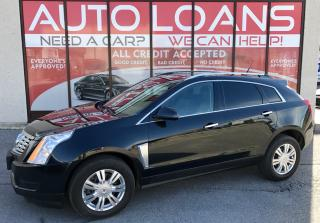 Used 2013 Cadillac SRX Luxury Collection SRX-ALL CREDIT ACCEPTED for sale in Scarborough, ON