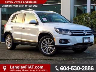 Used 2017 Volkswagen Tiguan Highline ONE OWNER, NO ACCIDENTS for sale in Surrey, BC