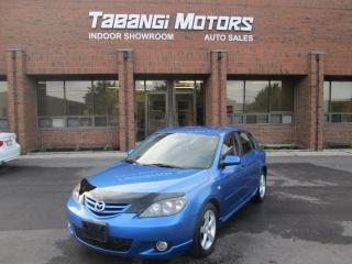 Used 2006 Mazda MAZDA3 POWER GROUP | ALLOYS | KEYLESS | for sale in Mississauga, ON