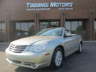 Used 2008 Chrysler Sebring CONVERTIBLE | LEATHER | ALLOYS for sale in Mississauga, ON