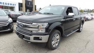 New 2018 Ford F-150 Lariat, Lthr, Moonroof, Nav, Tech Pkg for sale in Stratford, ON