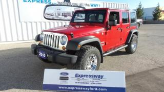 Used 2010 Jeep Wrangler Unlimited for sale in Stratford, ON