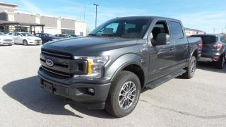 New 2018 Ford F-150 XLT, 301a, Sport Pkg, Crew for sale in Stratford, ON