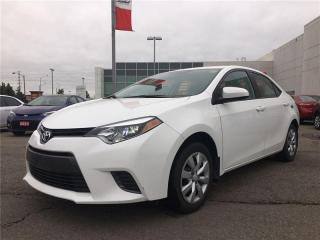 Used 2016 Toyota Corolla for sale in Brampton, ON