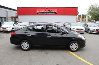 Used 2014 Nissan Versa 4dr Sdn CVT 1.6 S Plus for sale in Surrey, BC