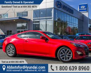 Used 2013 Hyundai Genesis Coupe 2.0T Premium BC OWNED for sale in Abbotsford, BC