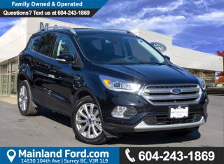 Used 2017 Ford Escape Titanium NO ACCIDENTS, LOCAL, LOW KMS for sale in Surrey, BC