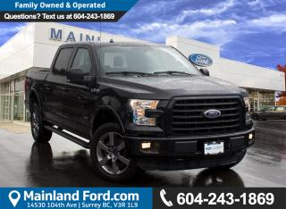 Used 2016 Ford F-150 XLT NO ACCIDENTS, LOCAL, LOW KMS for sale in Surrey, BC