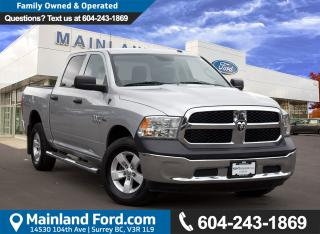 Used 2014 Dodge Ram 1500 ST LOCAL, LOW KMS for sale in Surrey, BC