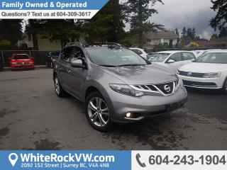Used 2011 Nissan Murano SL Security System, Remote Keyless Entry & Front Dual Zone A/C for sale in Surrey, BC