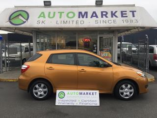 Used 2010 Toyota Matrix Auto 80 km! FINANCE ALL CREDIT! for sale in Langley, BC