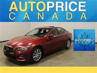 Used 2014 Infiniti Q50 NAVIGATION REAR CAM XENON for sale in Mississauga, ON