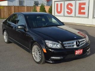 Used 2011 Mercedes-Benz C-Class C 250 4dr All-wheel Drive 4MATIC Sedan for sale in Brantford, ON