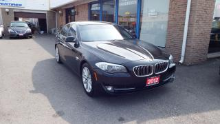 Used 2012 BMW 5 Series 528i xDrive/NAVI/BACKUP CAMERA/IMMACULATE$21900 for sale in Brampton, ON