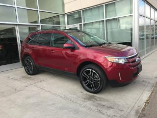 Used 2013 Ford Edge SEL/ACCIDENT FREE/BACK UP MONITOR/NAVIGATION/SUNROOF/HEATED SEATS for sale in Edmonton, AB