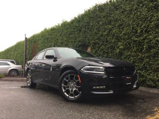 Used 2017 Dodge Charger SXT RALLYE AWD + HEATED FT SEATS + SUNROOF + BACK-UP CAM + REAR PARK ASSIST + BLIND-SPOT MONITORING SYSTEM for sale in Surrey, BC
