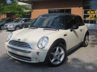 Used 2005 MINI Cooper Leather,Panoramic,Heated Seats ,CERT for sale in Concord, ON