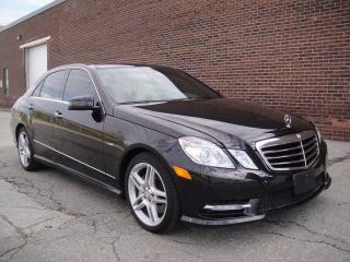 Used 2012 Mercedes-Benz E350 SPOTLESS ZERO ACCIDENTS-NAVI,BLUETOOTH,BACK CAM for sale in North York, ON