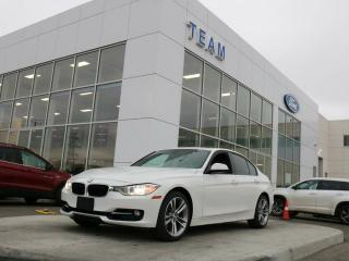 Used 2013 BMW 328 XDRIVE 328i, ACCIDENT FREE, MOONROOF, BLUETOOTH, NAV, HEATED FRONT SEATS, REAR CAMERA, LTHER, AWD for sale in Edmonton, AB