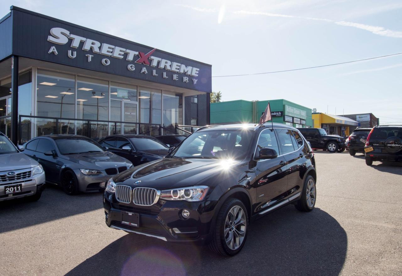 2017 BMW X3 xDRIVE l PANOROOF l LANE ASSIST l PREMIUM EXEC