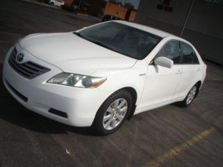 Used 2008 Toyota Camry hybrid.auto,accident free for sale in Mississauga, ON
