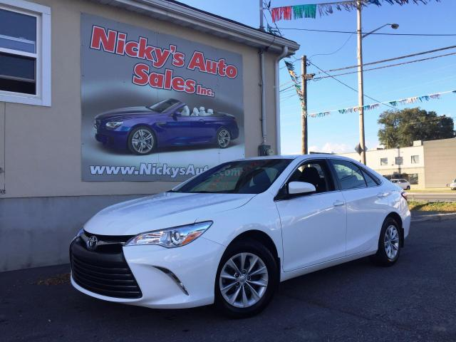 used 2017 toyota camry le backup cam bluetooth factory warranty for sale in gloucester. Black Bedroom Furniture Sets. Home Design Ideas