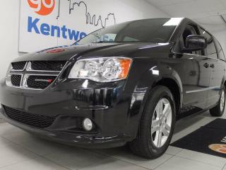 Used 2016 Dodge Grand Caravan Crew- power seat, rear climate control, and room for the whole fam! for sale in Edmonton, AB