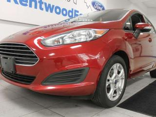 Used 2014 Ford Fiesta SE FWD hatchback with heated seats in ravishing red for sale in Edmonton, AB