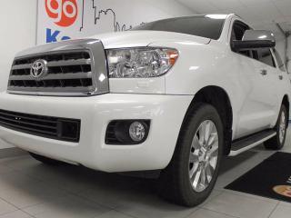 Used 2014 Toyota Sequoia Platinum 5.7L V8, NAV, sunroof, backup cam, power heated seats, for sale in Edmonton, AB